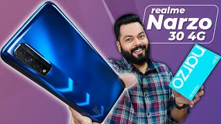 realme Narzo 30 4G Unboxing And First Impressions ⚡ MediaTek Helio G95, 90Hz Screen, 5000mAh & More
