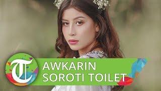 Awkarin Menyoroti Tingkah Masyarakat dalam Menggunakan Toilet Umum