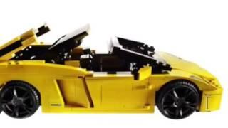 Lego Racers 8169 Lamborghini Gallardo Lp 560 4 Free Online Videos