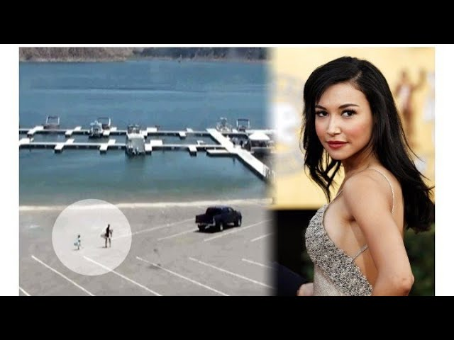 Naya Rivera Security Footage Shows Actress Renting Boat With Her Son - security cam video