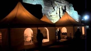 preview picture of video 'gedenkfEUer zum 200 Jahrestag der Völkerschlacht am 18 10 2013 in Leipzig mit den Baschkiren u a'