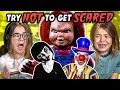 Kids React To Try Not To Get Scared Challenge 2