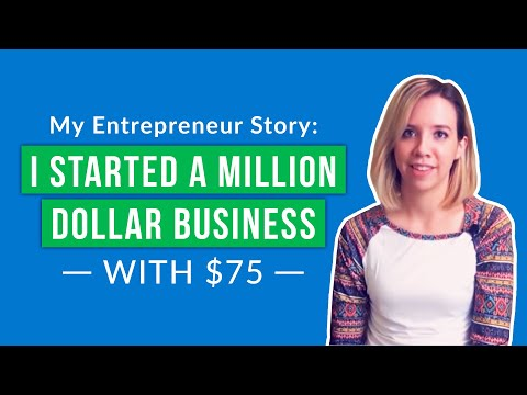 , title : 'My Entrepreneur Story: How I Grew a Million Dollar Business from $75