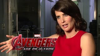 Cobie Smulders Interview - Avengers: Age of Ultron (2015) Maria Hill Marvel Movie