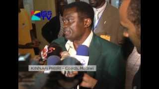 MALAWI FOOTBALL TEAM-THE FLAMES ARRIVE FOR MATCH WITH H.STARS.flv