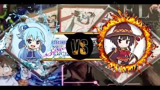 Eris  - (Konosuba: God's Blessing on this Wonderful World!) - Goddess Vs. Explosions!  (Konosuba 2 Locals Match)