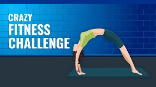 5 Crazy Fitness Challenge To Know Your Fitness Level 🏋.
