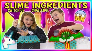 SLIME INGREDIENT SWITCH UP | We Are The Davises