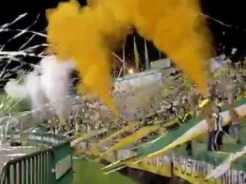 """""""AVS Salida Vs Narcoanal  2008"""" Barra: Artillería Verde Sur • Club: Deportes Quindío"""