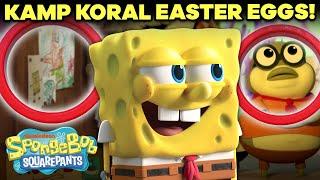 Kamp Koral Ep. 1 Easter Eggs + Callbacks 🏕 | SpongeBob
