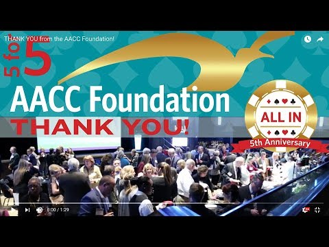 THANK YOU from the AACC Foundation!