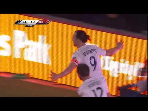 Zlatan Ibrahimovic Scores Game-Winning Goal vs Chicago Fire
