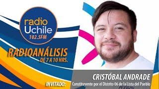 Cristóbal Andrade aborda la definición presidencial de la Lista del Pueblo