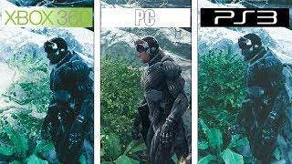 Crysis | PS3 vs 360 vs PC Ultra 4K | Graphics Comparison | Comparativa