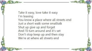 Division of Laura Lee - All Streets End Lyrics
