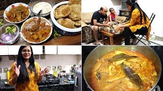 INDIAN DINNER ROUTINE || Desi Style Kathal Ki Sabji || Khatta Meetha Kaddu || Home-Made Kulfi Recipe