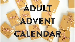 DIY Advent Gift Calendar For Adults