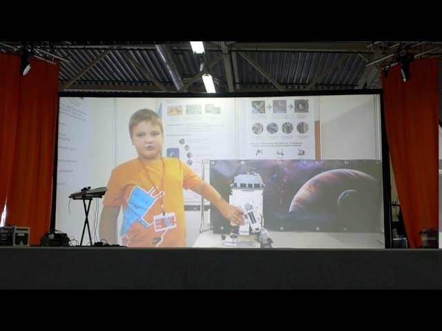 РобоФинист 2015 | Выступление на большой сцене команды LEGOТекторы