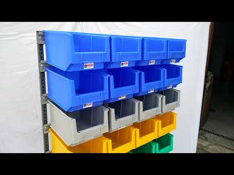 45 Single Sided Bin Stand