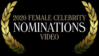The Most Beautiful Faces of 2020 - Female Celebrity Nominations