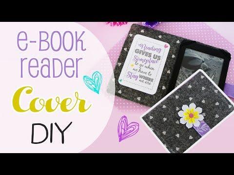 Cover in feltro per Kindle - DIY Cover ebook Reader -