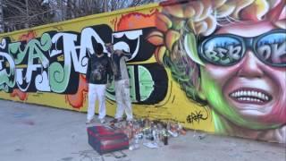 Graffitis Barcelona 2016 con Dam Trs