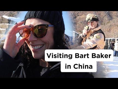 Visiting My Ex-Boyfriend Bart Baker in China!