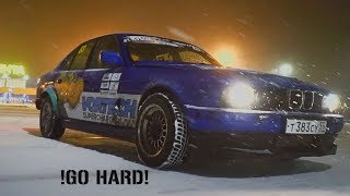 !GO HARD! STORY 1: Bmw 525 e34