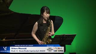 Chiharu Minewaki plays Étude 12 – Douze Études Caprices by Eugène BOZZA