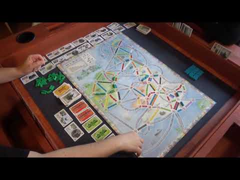 Hetvenkettedik rész - Játsszunk Ticket to Ride UK térképen! - A kocka el van vetve
