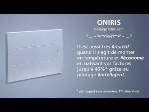 Radiateur Oniris Pilotage intelligent- ATLANTIC