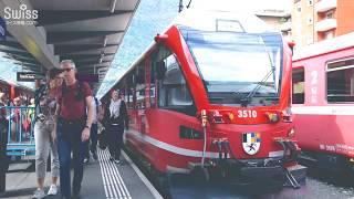 大人気!パノラマ観光列車のベルリナ・エクスプレスで絶景を満喫【スイス情報.com】