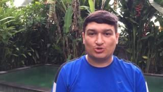 Поздравление с Новым Годом 2017! Видео с Бали