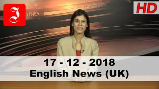 News English UK 17th Dec 2018