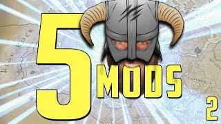 5 Mods Skyrim SE User Interface Part Two