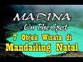 MADINA ONTHE SPOT 7 OBJEK WISATA DI MANDAILING NATAL