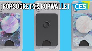PopSockets Phone Grips with Swappable Designs and PopWallet at CES 2019!