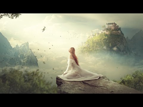 Clouds Kingdom – Photoshop Manipulation Tutorial Compositing Process