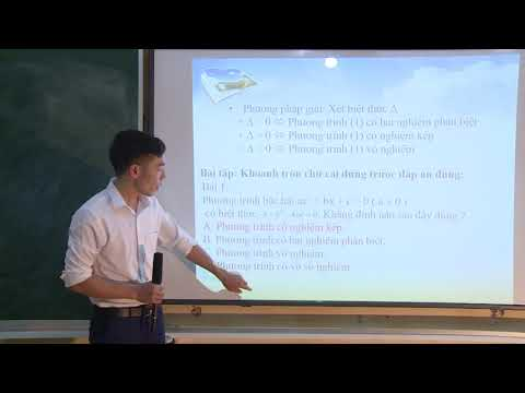 Toán 9: Phương trình bậc hai một ẩn, Đinh Văn Nam, PTDTNT THCS Lục Yên