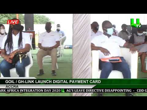 Goil, Gh-Link Launch Digital Payment Card