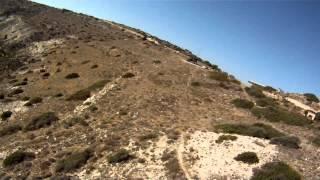 preview picture of video 'Полёты на Кипре - бухта Курион / Paragliding on Cyprus - Kourion beach - Top landing'