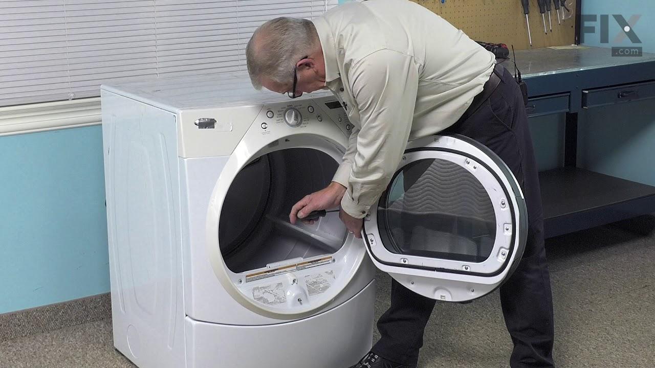 Replacing your Whirlpool Dryer Door Hinge