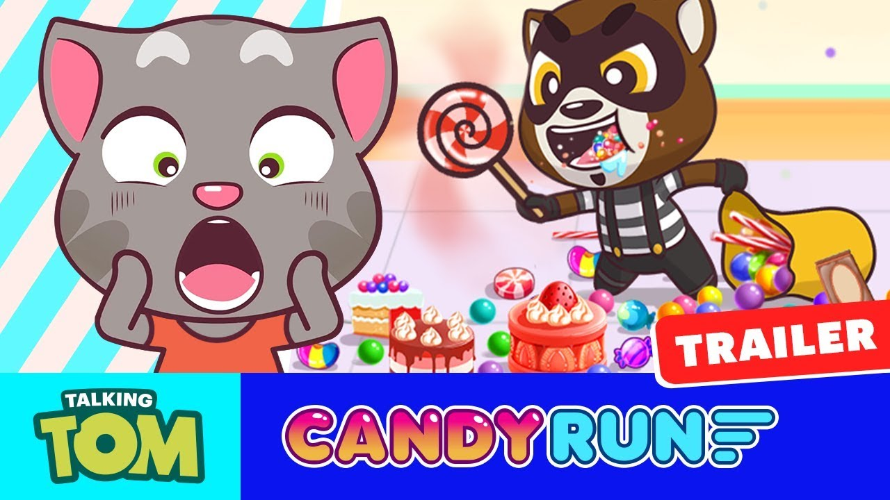 0b4f10eb8e329 Choose your favorite Talking Tom and Friends character and get ready to  run, jump and slide your way through an epic, candy-filled adventure!