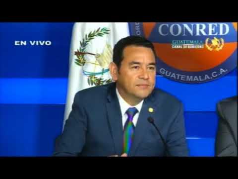 Jimmy Morales habla sobre haber declarado non grato a Iván Velásquez