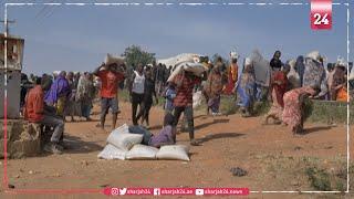 آلاف الأشخاص ينهبون مستودعاً للمواد الغذائية بوسط نيجيريا