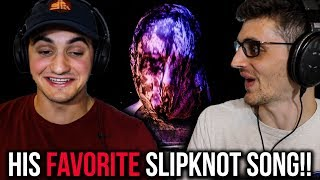 "REACTING To ""Nero Forte"" By SLIPKNOT (This Song Turned Him Into A METALHEAD!!))"
