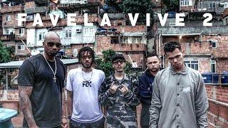 Favela Vive 2 (Cypher) – ADL, BK, Funkero e MV Bill (Prod. Índio)