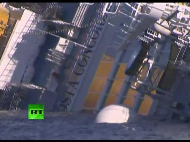 غرق السفينة الايطالية  كوستا كونكورديا