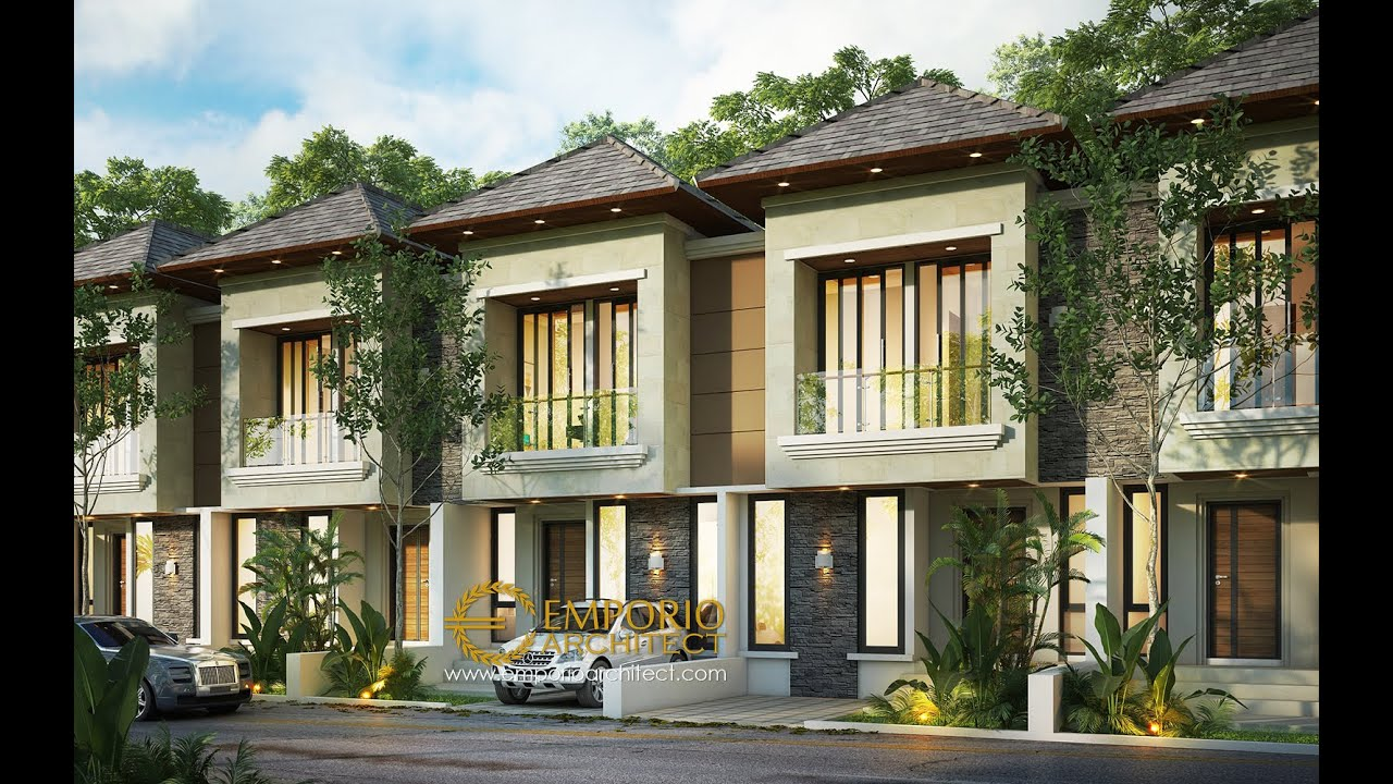 Video 3D The Mahaka Premiere Villa Bali 2 Floors Design - Bekasi