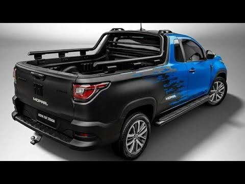 Nova Fiat Strada 2021: Vejam Todos os Detalhes! Novos acessórios divulgados...